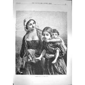 1870 Cottagers Family Children Dobson Fine Art