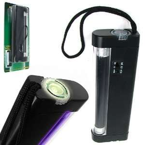 in 1 UV Torch Light and UV Counterfeit Money Detector: Office Products