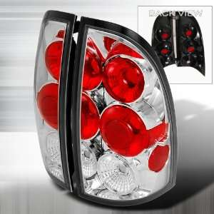 05 07 Toyota Tacoma Altezza Tail Lights   Chrome