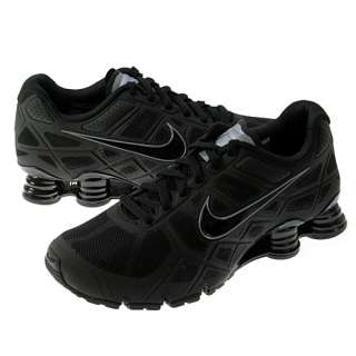 NIKE SHOX TURBO+ 12 MENS Size 13 Black Running Shoes