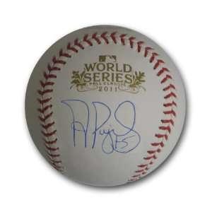 Autographed Albert Pujols 2011 World Series Baseball (MLB