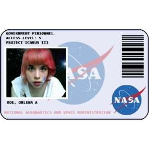 Printable NASA Name Badge (page 2) - Pics about space