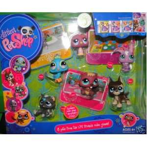 Littlest Pet Shop 6 Pack Video Game Pets Toys & Games