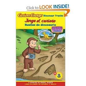 Curious George Dinosaur Tracks/Jorge el curioso huellas de