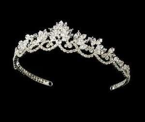 Vintage Inspired Crystals Bridal Tiara