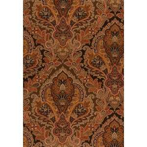 Raipur Paisley Chocolate by F Schumacher Wallpaper Home Improvement