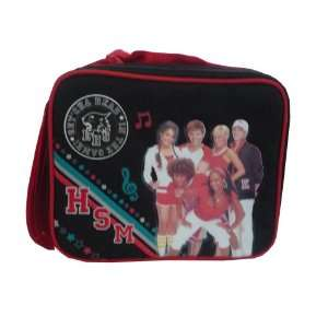 School Musical Insulated Lunch Bag / Black & Red / Free Water Bottle
