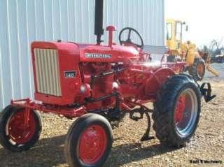 International Farmall 140 Tractor w/Cultivators & 1 Point Hitch
