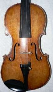 INTERESTING OLD ITALIAN LABELED VIOLIN, GREAT SOUND, READY TO PLAY