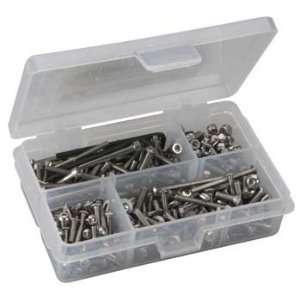 SC8 Corr Stainless Steel Screw Kit RCZASS034 Toys & Games