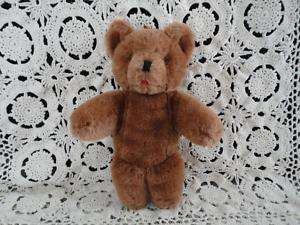 Antique Brown Mohair Teddy Bear with Tongue D27