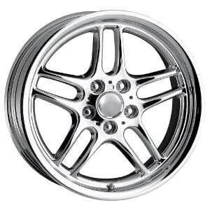 18 Inch 18x8 Detroit wheels STYLE DMP Chrome wheels rims Automotive