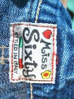 MISS SIXTY Dark Blue Flare Leg Jeans Pants Sz 26