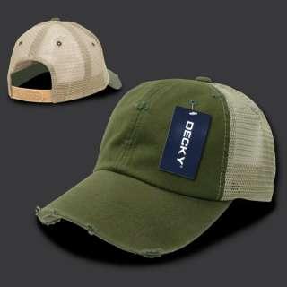 Olive Green Vintage Mesh 80s Snapback Trucker Vtg Baseball Cap Caps