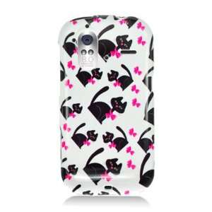 HTC Amaze / Ruby Graphic Case   White Bow Tie Cat (Package