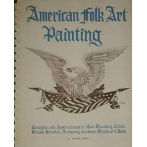 American Folk Art Painting Design and Instructions for