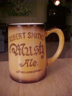 CIRCA 1910 ROBERT SMITHS MUSTY ALE MUG W 29