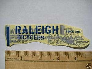 RALEIGH MOUNTAIN ROAD BIKE BICYCLE Tri C STICKER DECAL