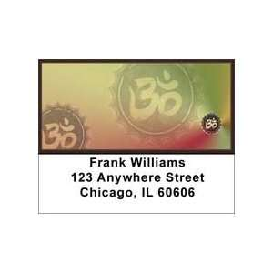 Hinduism Aum Symbols Address Labels: Office Products