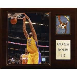 NBA Andrew Bynum Los Angeles Lakers Player Plaque on PopScreen c71dc724b