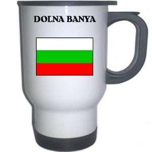 Bulgaria   DOLNA BANYA White Stainless Steel Mug