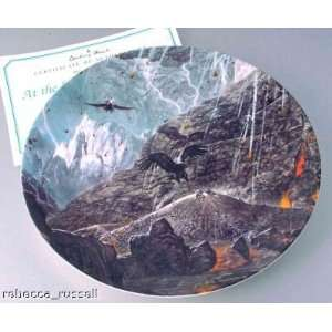 Lord Of The Rings Collector Plate Mount Doom