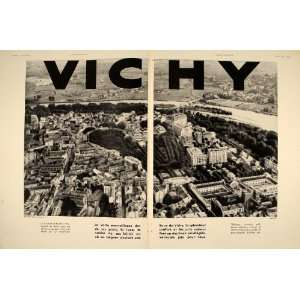 Vichy France Thermal Spa Resort   Original Print Ad: Home & Kitchen