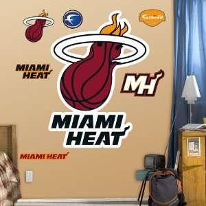 NBA Miami Heat Logo Fat Head