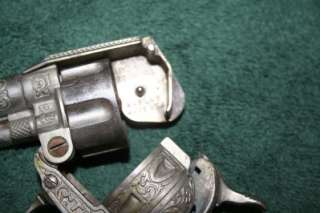 Vintage Hubley Texan Double Barrel Cap Gun