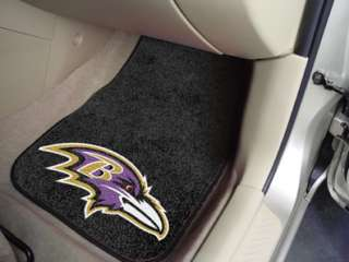 Baltimore Ravens NFL 2 Pc Car & Truck Front Floor Mats