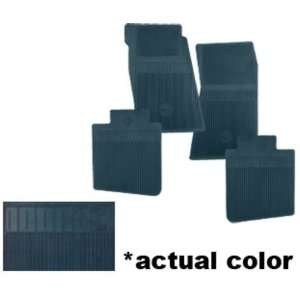 New Chevy Camaro/Chevy II/Nova Floor Mats   Dark Blue, 4pc 62 63 64