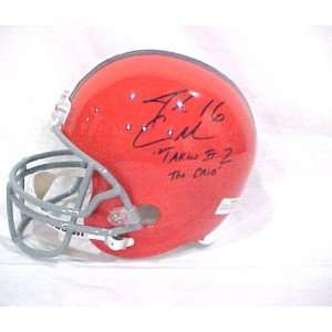 Josh Cribbs Hand Signed Autographed Cleveland Browns Full