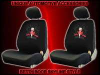 4PC BETTY BOOP SKYLINE BUCKET SEAT COVERS W HEAD RESTS