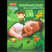 Rainforest Music Natures Lullabies More CD, 3 Discs, Fisher Price