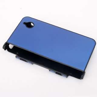 Aluminum Metal Hard Case Cover For NDSi DSi XL LL Blue