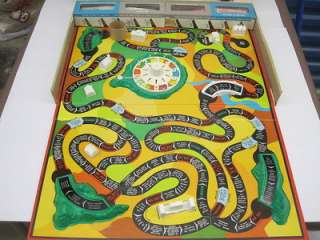 MILTON BRADLEY 1960  THE GAME OF LIFE GUC Complete