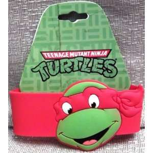 TEENAGE MUTANT NINJA TURTLES TMNT Raphael Red WRISTBAND