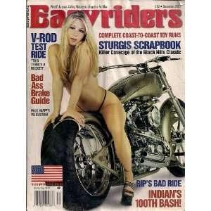 Easyriders Magazine December 2001 Issue: Easyriders, Dave