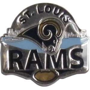 St. Louis Rams Pin   NFL Football Fan Shop Sports Team