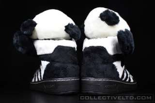Adidas Jeremy Scott Panda Bear visvim BLACK WHITE 12