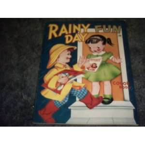 Rainy Day Fun 1980s Coloring Book 29 Cents
