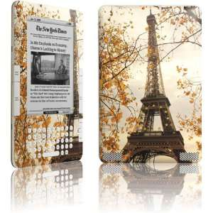 Paris Eiffel Tower Surrounded by Autumn Trees skin for