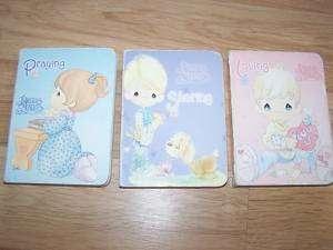 Lot of 3 Precious Moments Board Books Praying Loving
