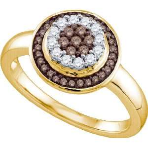 Enchanting Flower Ring Beautifully Crafted in 10K Two Tone
