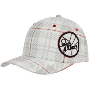 Philadelphia 76ers White Provoker Closer Flex Hat Sports & Outdoors