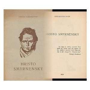 Hristo Smyrnensky: Georgi Karaslavov:  Books