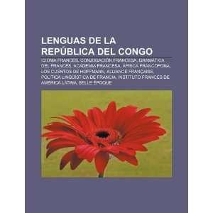 com Lenguas de la República del Congo Idioma francés, Conjugación