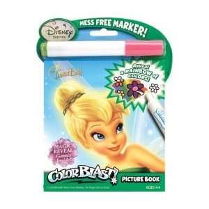 Tinkerbell Mess Free Invisible Ink Coloring Books Toys & Games