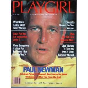 Playgirl Magazine, issue dated June 1980 Paul Newman cover; mate