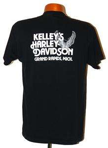 Vtg 80s 3D Emblem Harley Davidson 85 YEARS OF TRADITION T Shirt Men sz